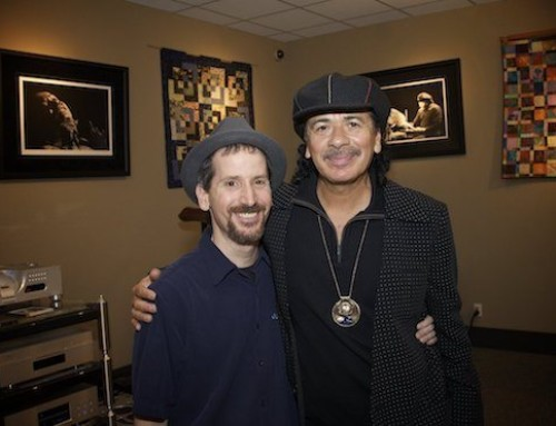 """Claire and Michael, Love Supreme!"" — Carlos Santana • guitarist & grammy winner"